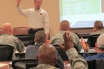 Workshop advises service members in transition