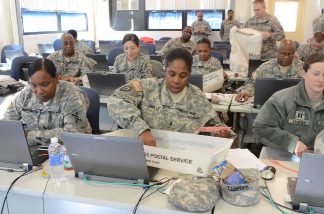 Human Resource Specialists Participate in Silver Scimitar Exercise