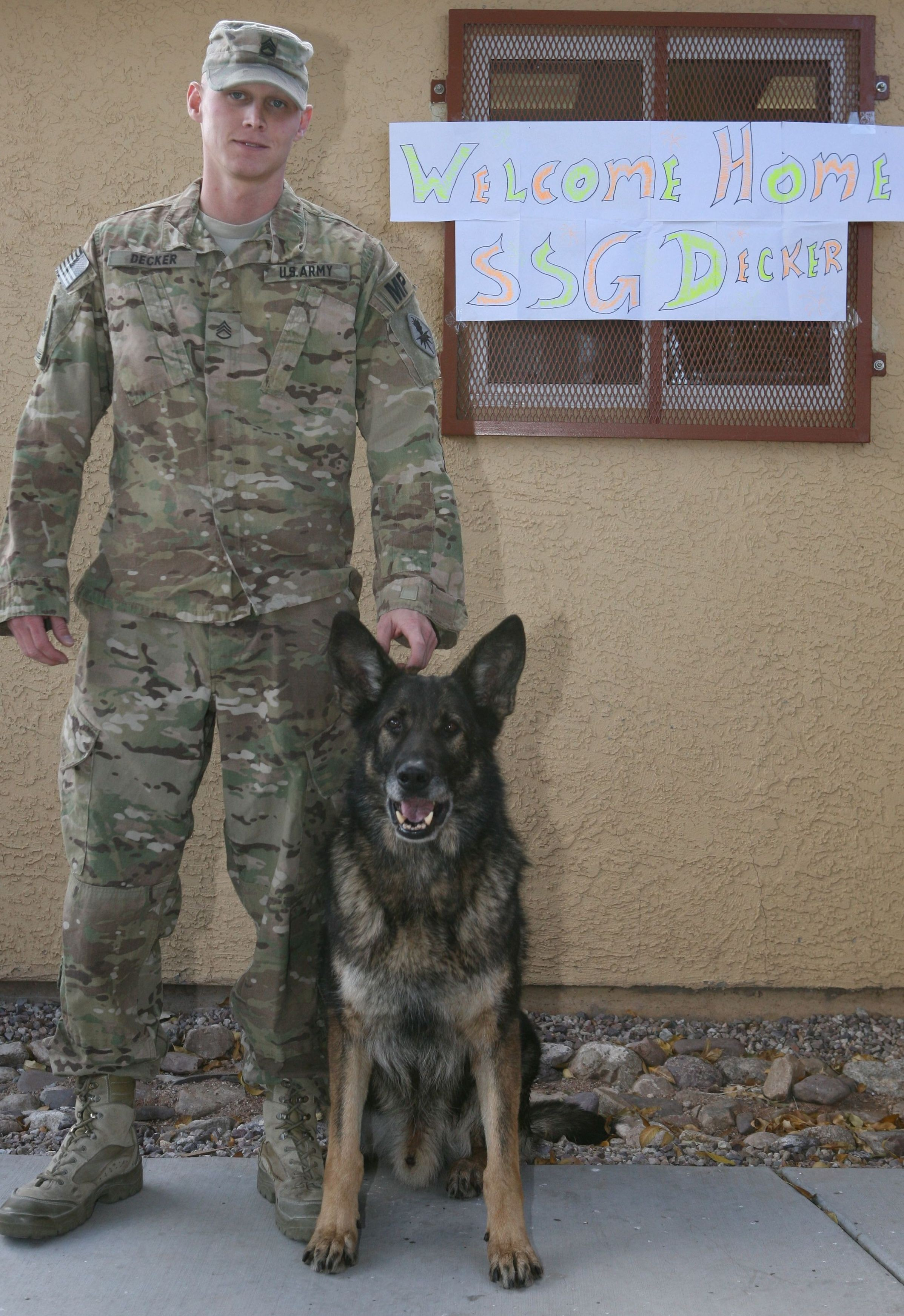Fort Welcomes Deployed K9 Team Home Article The United States Army