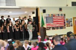 Raiders participate in Veterans Day assemblies