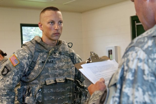 Sgt. 1st Class Jason Manella, Non-commissioned Officer of the Year