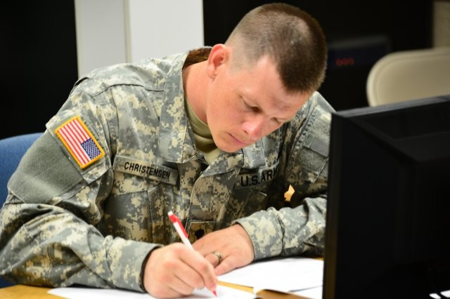 Spc. Adam Christensen, Soldier of the Year
