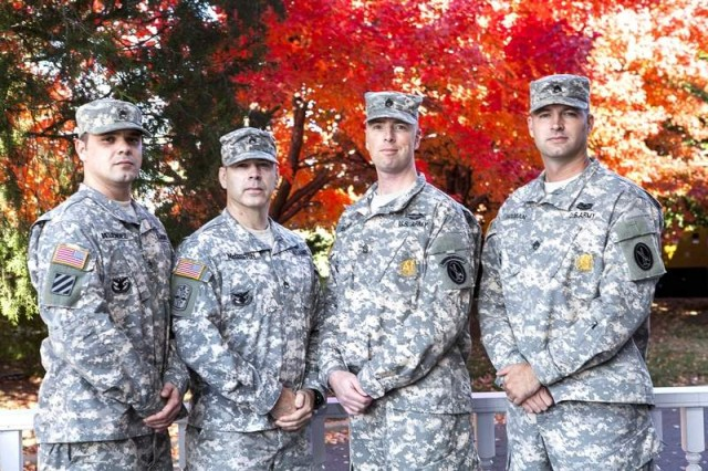 Four Soldiers compete for MDW career counselor of the year