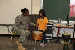 US Army soldiers in Japan Support American Education Week