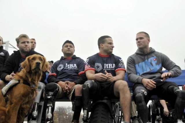 Wounded Warrior Amputee football team debuts in MDW.