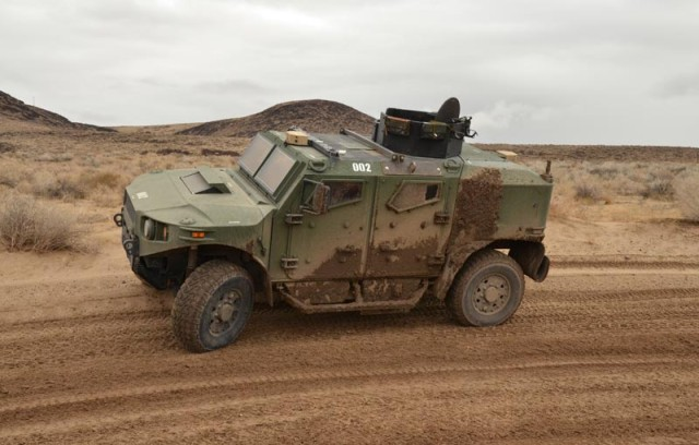 TARDEC's Ultra Light Vehicle