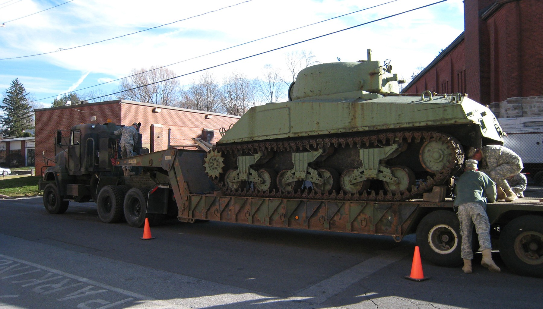 Sherman Tank Returns To North Country For Restoration Article - Military museums in us