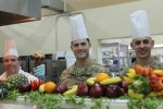 Gamberi Dining Facility hosts Thanksgiving