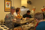 Lifeliners serve food and more at Mahaffey Middle School