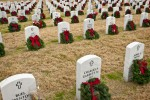 Christmas wreaths for fallen heroes