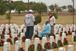Christmas brings color, grief to Central Texas State Veterans Cemetery