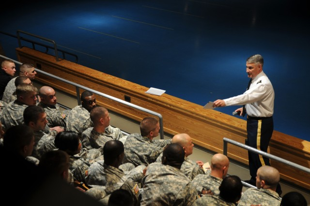 SMA talks policy, Army future with Old Guard