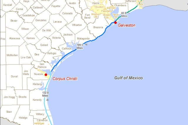 Gulf Intracoastal Waterway (Texas portion)