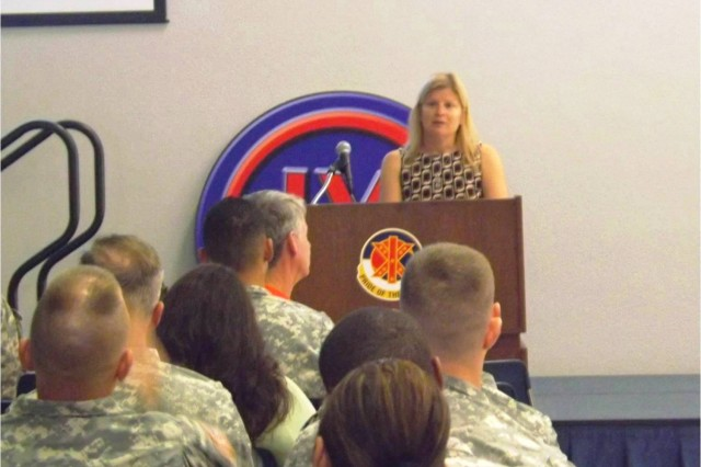 "Dr. Linn-Gust made three presentations from 13-15 NOV, at Schofield BKS (13); USARPAC HQ (14) and Ft. Shafter Flats (15 NOV) discussing the ""Language of Suicide"" with Soldiers so we might better understand what perpetuates stigma."