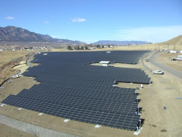 Fort Carson Solar Panels
