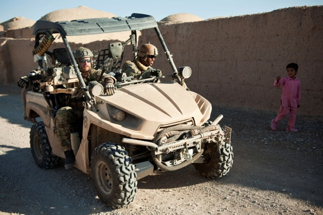 Lightweight Tactical All Terrain Vehicle