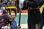 Army Fife and Drum Corps, Drill Team bring holiday cheer to children's hospital