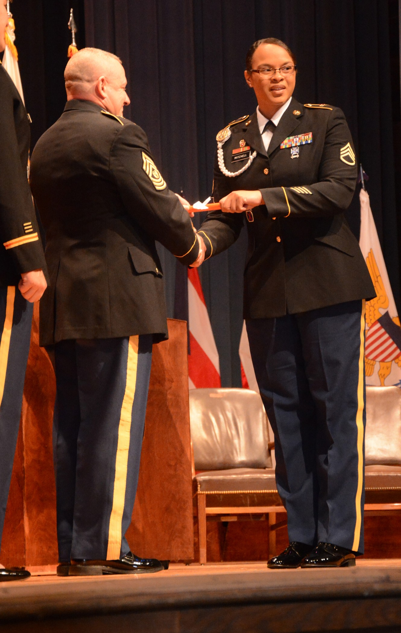 cyberspace warriors graduate army s newest military ronald pflieger u s army signal center of excellence and fort gordon regimental command sergeant major during a ceremony held nov