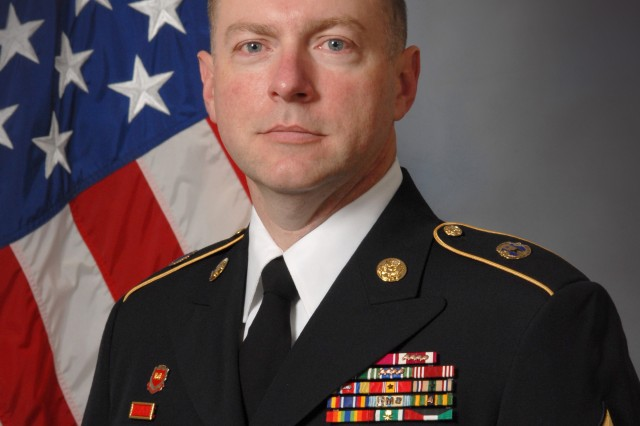 Command Sgt. Maj. James Wills, senior enlisted leader 80th Training Command (TASS)