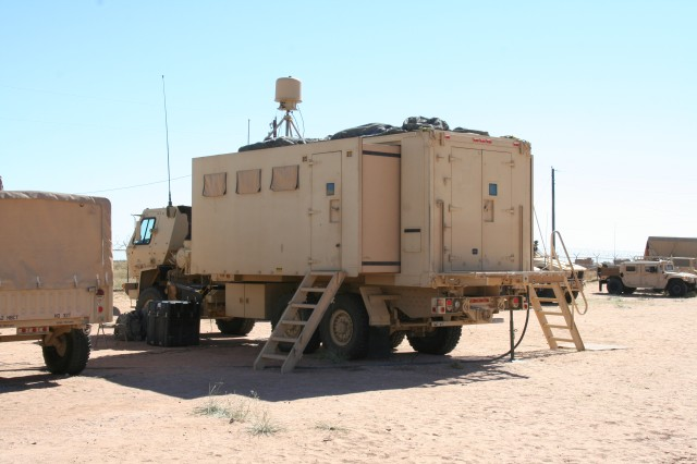 During the Army's Network Integration Evaluation 14.1 at Fort Bliss, Texas, which wrapped up in mid November 2013, the brigade Tactical Command Post was integrated into a new mobile command post based on a Light Medium Tactical Vehicle with expandable sides that could be set up or torn down in under an hour, making it even more maneuverable, scalable and agile than the traditional Tactical Command Post tent.