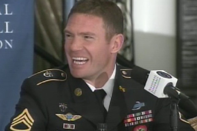 National Football Foundation awardee Nate Boyer
