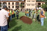 Army Corps, Nan Inc. Hold Site Blessing for Quad B Renovation Project