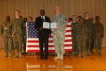 Army recruiter reenlisted by retired Navy officer/high school principal