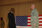Army recruiter reenlisted by retired Navy office/high school principal