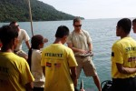 Army, Cambodia divers work together to de-mine Pacific waters