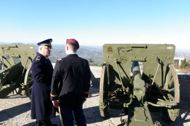 Paratroopers from the 173rd Infantry Brigade Combat Team (Airborne) celebrated the festival of Saint Barbara in the city-state of San Marino, as guests of the civilian and military leaders here Dec. 4.