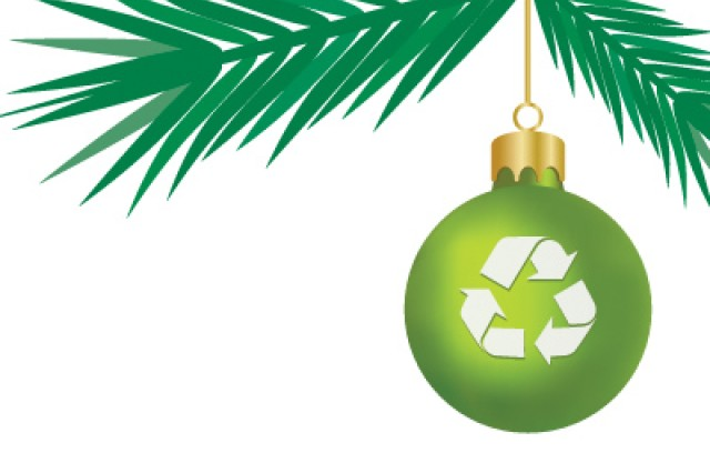 "Lessening your impact on the environment this season can easily put the red and ""green"" back into the holidays."