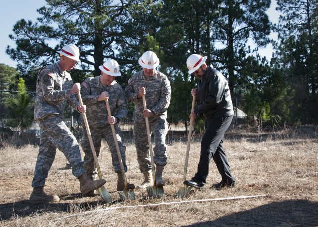 FORSCOM breaks ground on new Geospatial Readiness Center, after original's destruction in 2011 tornado
