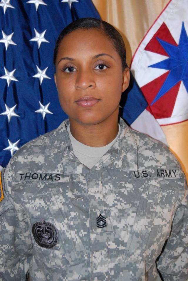 SAMC Hawaii Koa - Sgt. 1st Class Daphne C. Thomas