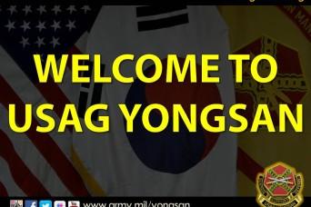 Welcome to USAG Yongsan!