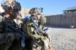 Afghans talk security with Spartans on retrograded base