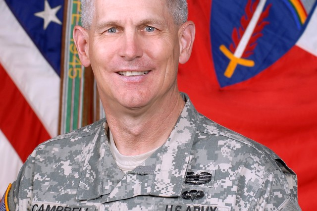 Lt. Gen. Donald M. Campbell Jr., U.S. Army Europe commander.