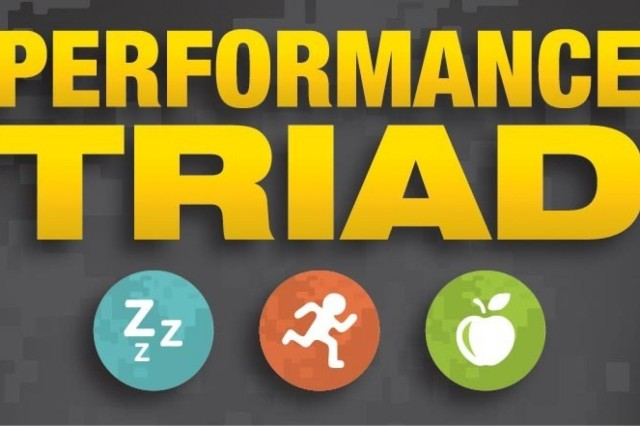 Preparing the body to perform before physical activity can boost performance and prevent injury. The Army Performance Triad, a holisitic approach to well-being, encourages Soldiers and family members to incorporate safe physical activity, quality sleep and sound nutrition practices into their lives.