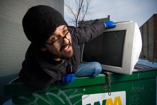 Dumpster Diving; One man's trash is another man's treasure ...