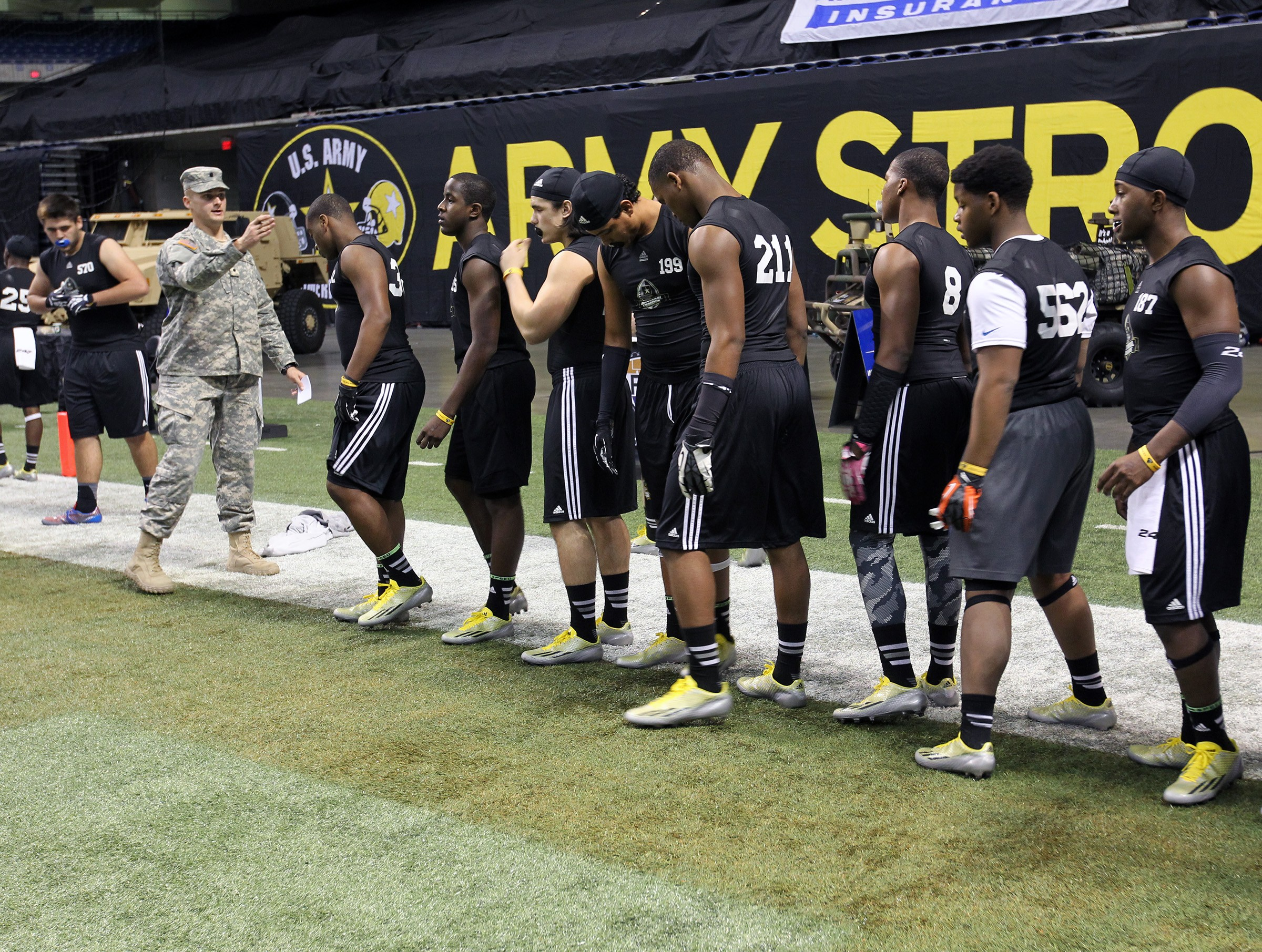 Army Cadet Draws On Personal Experience At Army National Combine