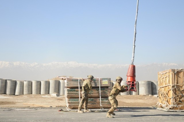 Sustaining the forces through sling load operations