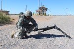 Soldier Deploys M205 Tripod