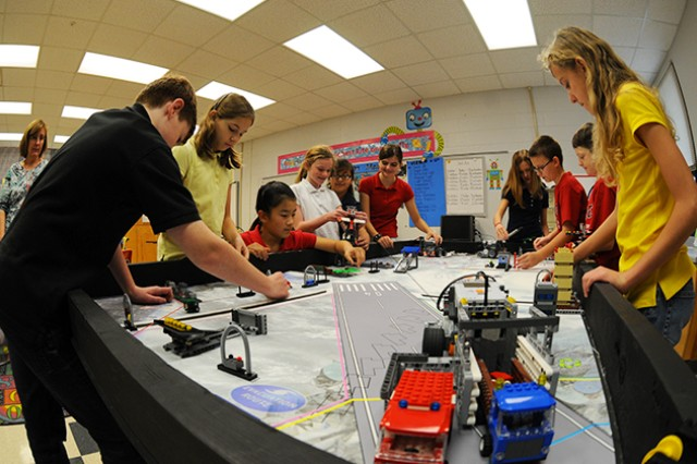 The Fort Rucker Elementary School Lego Robotics Team competed for the first time in The First Lego League state qualifier in Birmingham last year. The Lego Robotics Team is a product of the STEM school program, which the Fort Rucker Primary School, although not officially a STEM school, is hoping to feature more of in the new year.