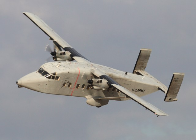 C-23 Sherpa makes final flight as Army Guard retires venerable aircraft