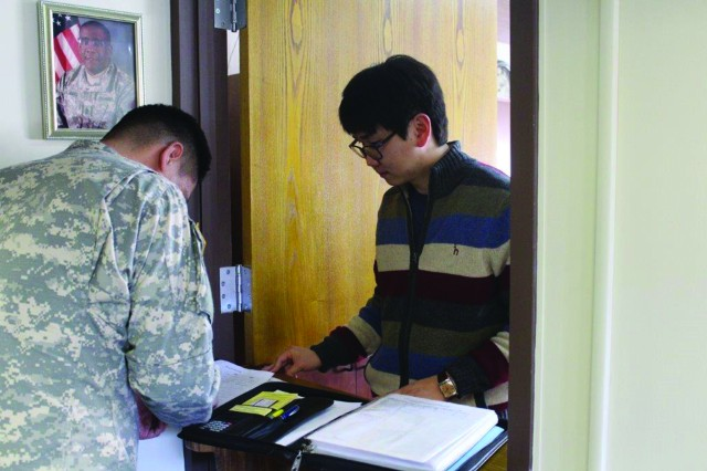 Yang, Seung yeop, Kyungpook National University student and intern at the U.S. Army Garrison Daegu Army Substance Abuse Program.