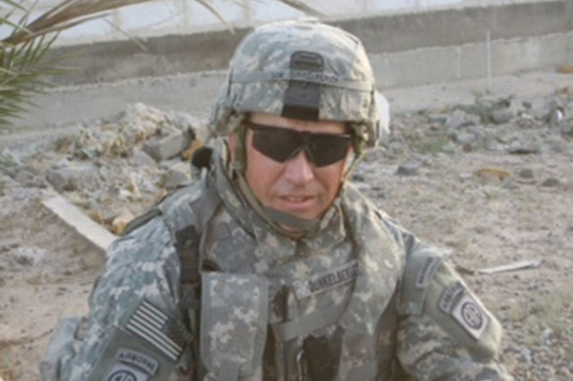 Command Sgt. Major Jeffrey Dunkelberger deployed to Iraq in 2005.