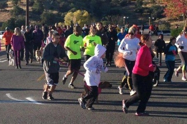 Members of the Fort Huachuca community participate in the Thanksgiving Turkey Trot, one of the 5K Walk/Run Series events, on post, Thanksgiving morning, Nov. 28. These Family-friendly events will tentatively take place each month through September. Register at Barnes Field House or Eifler Fitness Center.
