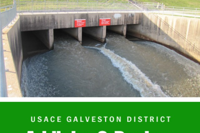 HOUSTON - The U.S. Army Corps of Engineers Galveston District began repair work to the Addicks and Barker dams as part of interim risk reduction measures devised to further reduce risks associated with the existing structures while a permanent design solution is selected to replace the water control outlet structures in 2015.