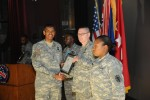 Sgt. 1st Class Eric Driscoll received the President's Call to Service Award