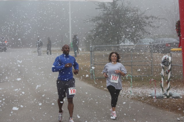 December's 'Jingle Bell Run' was the post's most popular 5k of 2013.