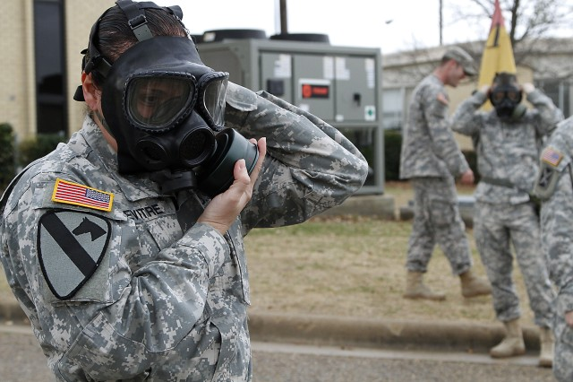 Hammer suits up for CBRN training | Article | The United States Army